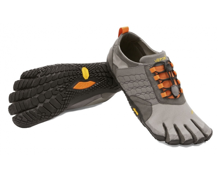 Trek Ascent - Grey Black Orange Trek Ascent - Grey Black Orange